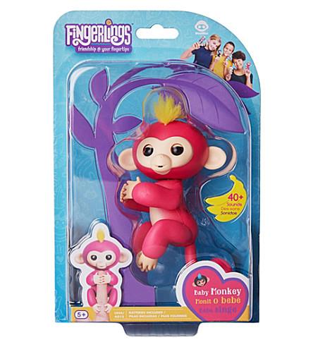 FINGERLINGS Fingerlings Baby Monkey