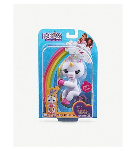 FINGERLINGS Gigi baby unicorn interactive toy