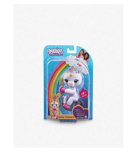 FINGERLINGS Baby Unicorn Gigi finger puppet