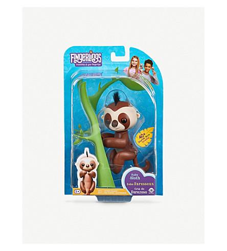 FINGERLINGS Kingsley sloth interactive toy