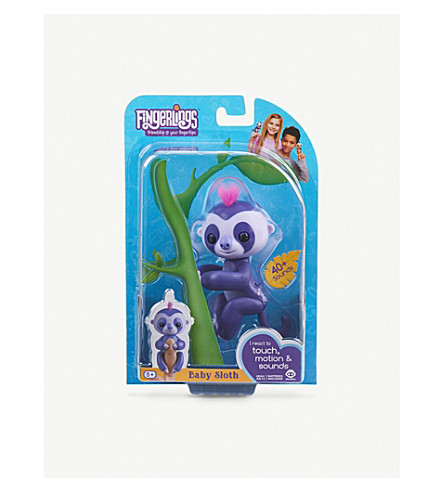 FINGERLINGS Marge sloth interactive toy