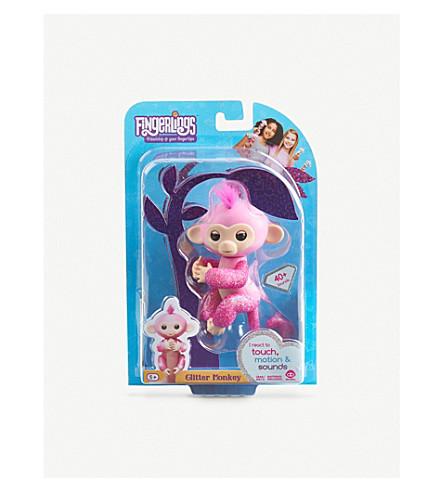 FINGERLINGS Rose glitter monkey interactive toy