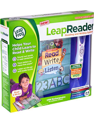 LEAP FROG LeapReader reading and writing system - pink