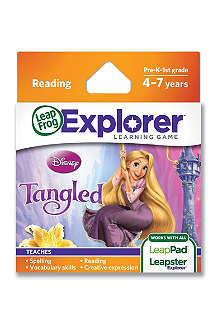 LEAP FROG Explorer Tangled game cartridge