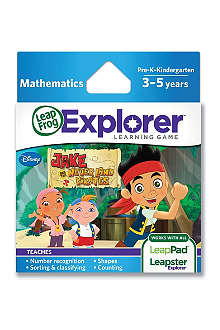 LEAP FROG Explorer Jake and the Never Land Pirates game cartridge