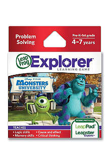 LEAP FROG Explorer Monster's University game cartridge