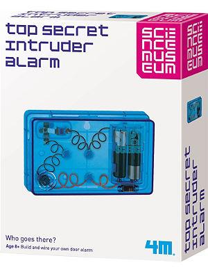 SCIENCE MUSEUM Top secret intruder alarm kit