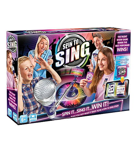 SELFIEMIC Spin To Sing game