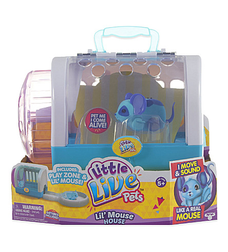 LITTLE LIVE PETS Lil' Mouse house playset
