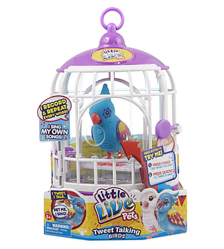 LITTLE LIVE PETS Bird and cage playset