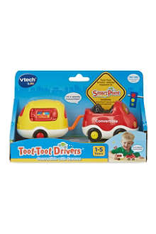 VTECH Toot-Toot Drivers convertible with caravan