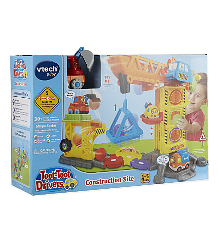 VTECH Toot-toot drivers construct site