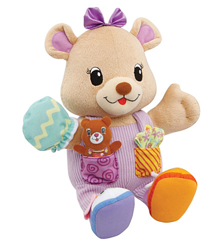 VTECH My friend alice interactive teddy bear