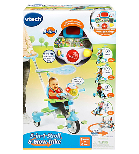 VTECH Grow with Me 5-in-1 trike