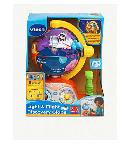 VTECH Light & flight discovery globe playset