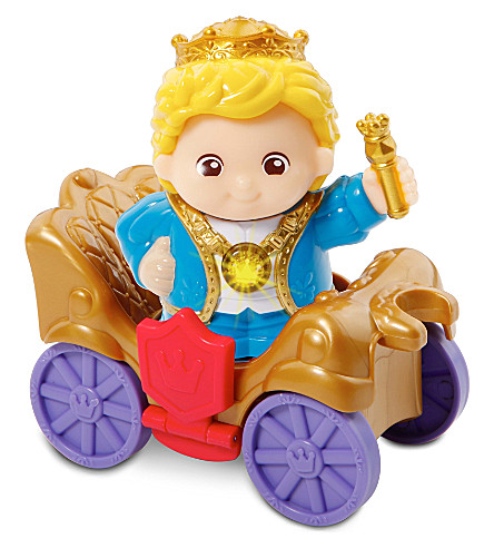 VTECH Toot-Toot Kingdom King James and throne set