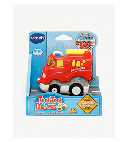 VTECH Toot-Toot Drivers Press n Go fire engine