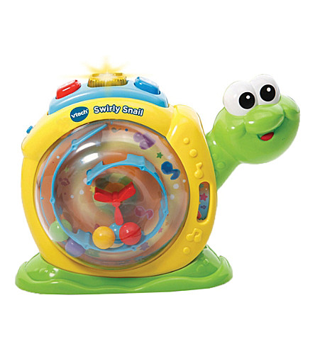 VTECH Swirly Snail toy