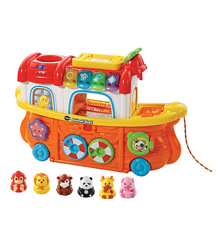 VTECH Toot-Toot animals boat playset