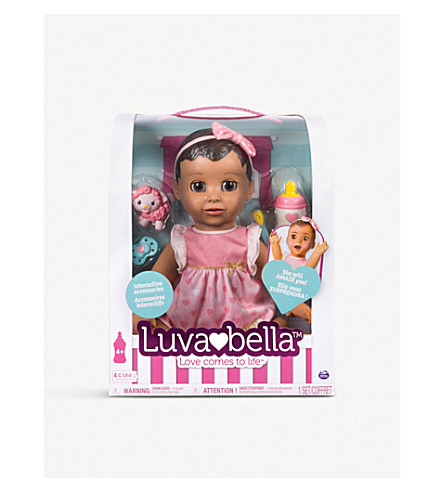 LUVABELLA Brunette hair doll