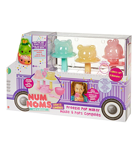 NUM NOMS Light-up freezie pop maker