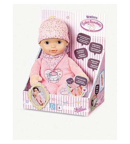 BABY ANNABELL - Newborn Heartbeat doll | Selfridges.com