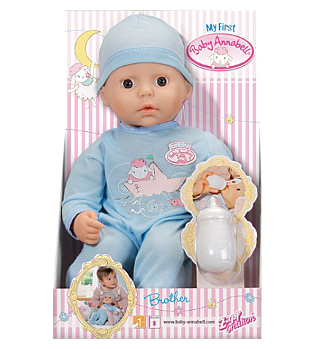 BABY ANNABELL Baby Annabell My 1st Brother doll