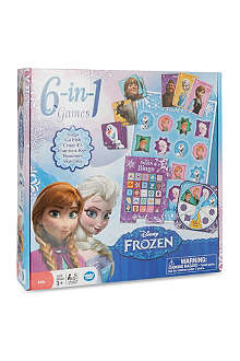 FROZEN Disney Frozen 6 in 1 game