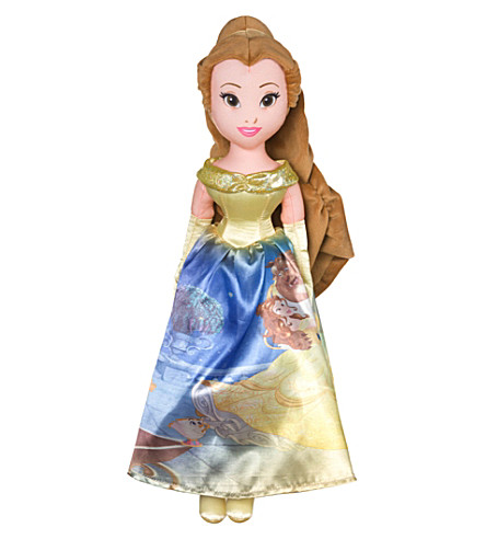 DISNEY PRINCESS Storytelling Belle soft toy
