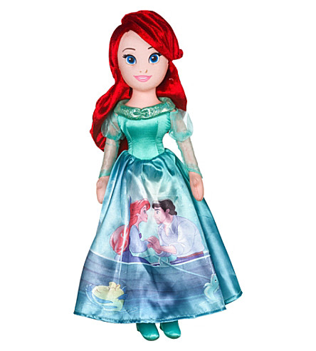 DISNEY PRINCESS Storytelling Ariel soft toy