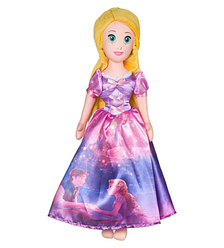 DISNEY PRINCESS Storytelling Rapunzel soft toy