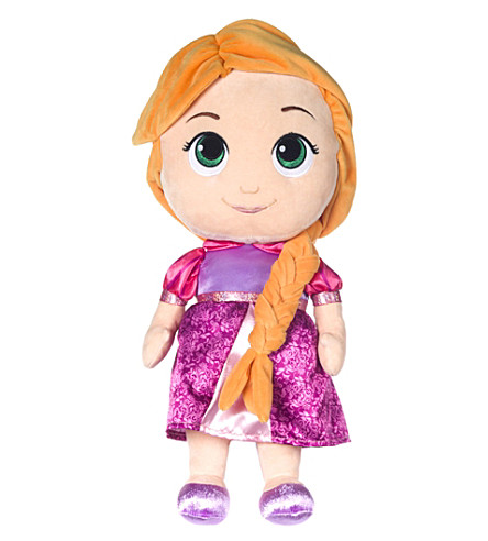 DISNEY PRINCESS Rapunzel soft doll