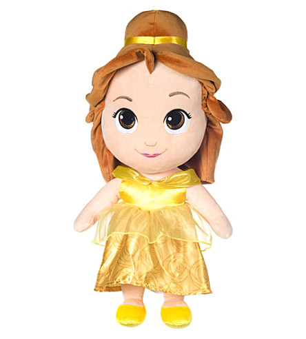 DISNEY PRINCESS Belle soft doll