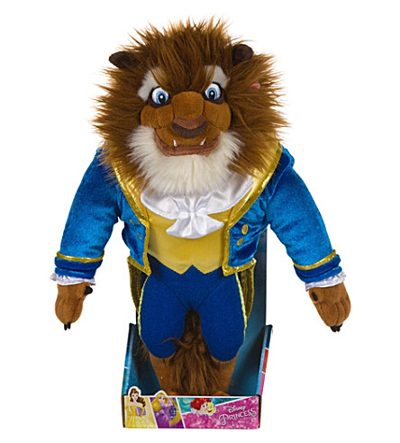 DISNEY PRINCESS Beast soft toy