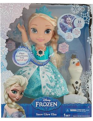 FROZEN Disney snow glow Elsa
