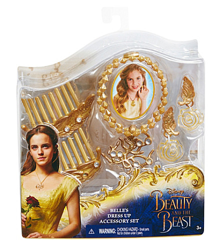 DISNEY PRINCESS Belle dress up accessories set