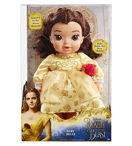 DISNEY PRINCESS Beauty and the Beast Baby Belle doll