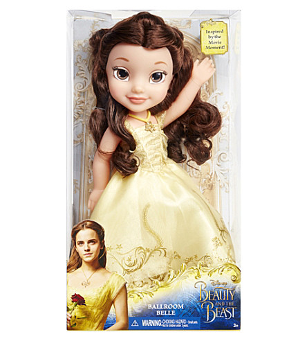 DISNEY PRINCESS Beauty and the Beast Ballroom Belle doll
