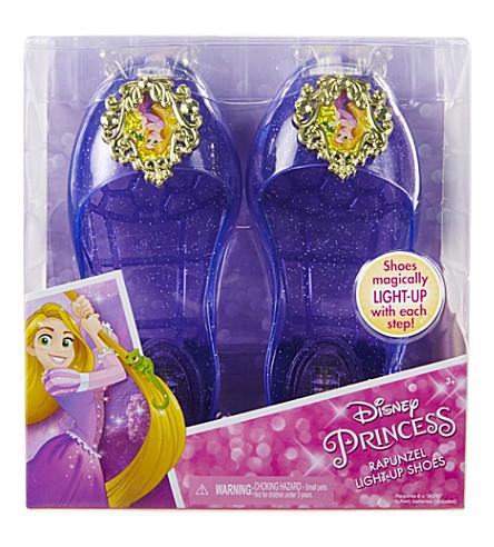 DISNEY PRINCESS Rapunzel light-up jelly shoes