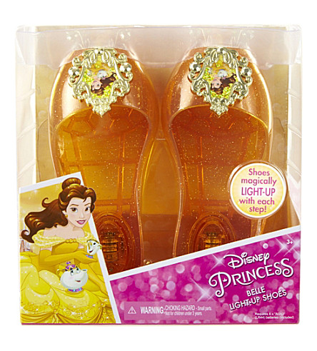 DISNEY PRINCESS Belle light-up jelly shoes