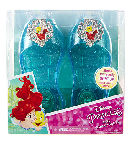 DISNEY PRINCESS Ariel light-up jelly shoes