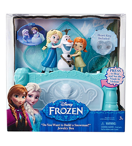 FROZEN Build a Snowman jewelry box