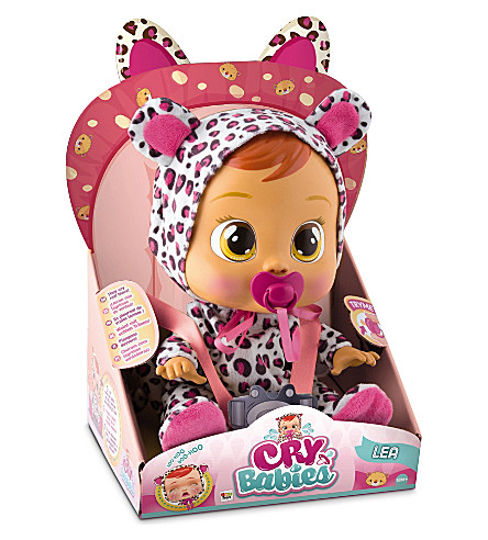 BABY WOW Lea Cry Babies doll