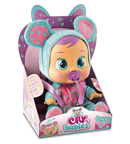 BABY WOW Lala Cry Babies doll