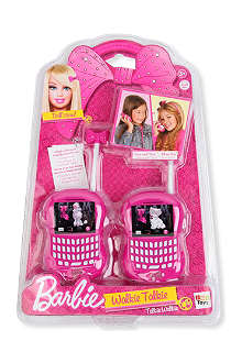 BARBIE My fab walkie talkies