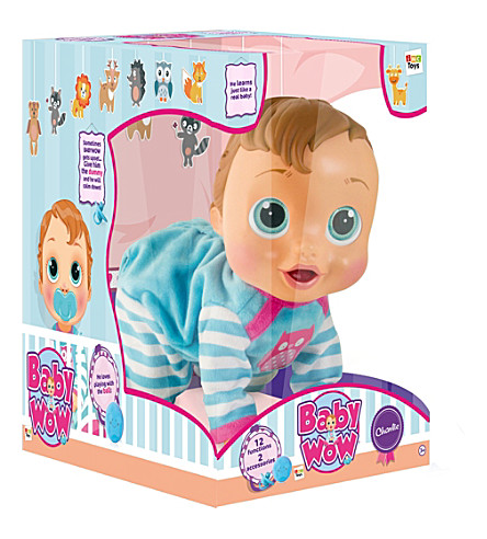 BABY WOW Crawl and Play Charlie Doll