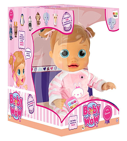 BABY WOW Chatty Emma doll
