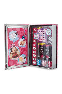 BARBIE Nail art salon tin