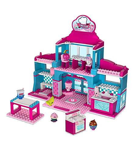 SHOPKINS Kinstructions Chef Club academy deluxe playset