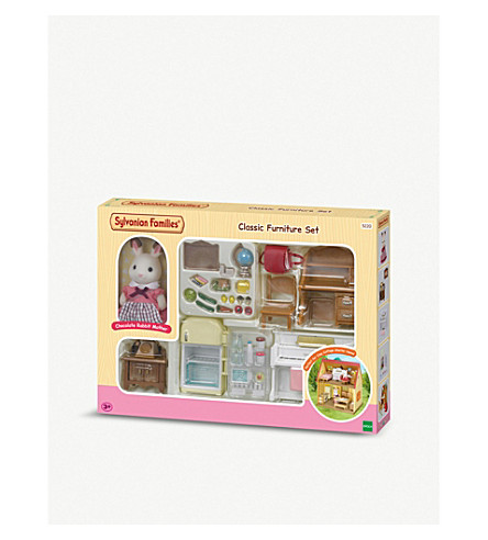 SYLVANIAN FAMILIES Classic Cosy Cottage furniture set